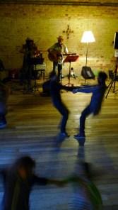 Dancing in the Quadrangle