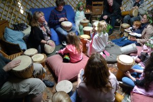 Drumming-workshop